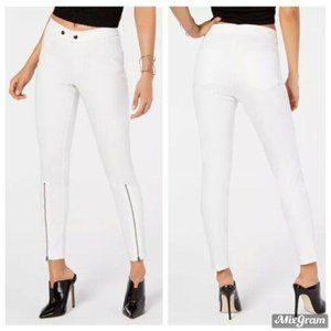 Hue Women's Denim Leggings Size Small White